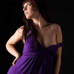 Sandy - purple Dress